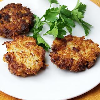 Cauliflower Salami Latkes