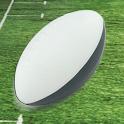 Rugby Kick logo