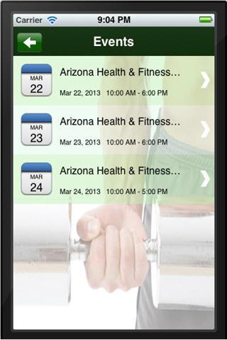 【免費健康App】AZ Health & Fitness Expo-APP點子