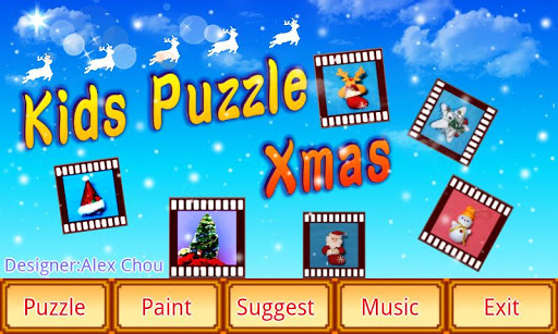 Kids puzzle Xmas