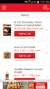 Weis Markets - screenshot thumbnail