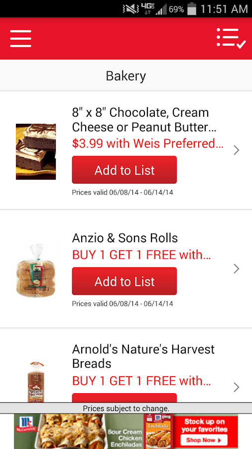 Weis Markets - screenshot