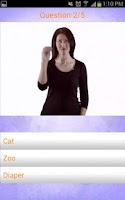 Screenshot of Baby Signing Lite - MSH