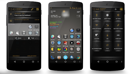 Brown Fire Theme CM11/AOSP v4.00
