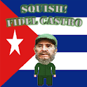 Squish! Fidel Castro logo