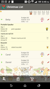 Christmas List Gift Planner- screenshot thumbnail
