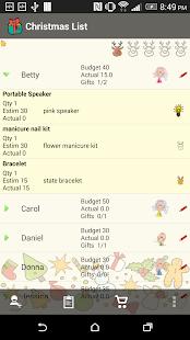 Christmas List Snowball- screenshot thumbnail