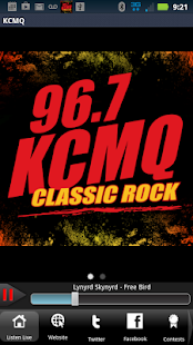 KCMQ - 96.7FM - screenshot thumbnail