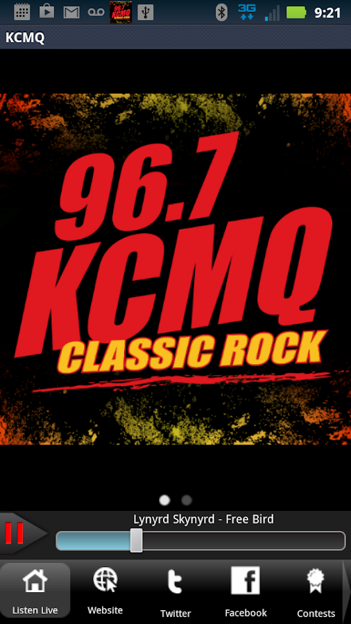 KCMQ - 96.7FM - screenshot