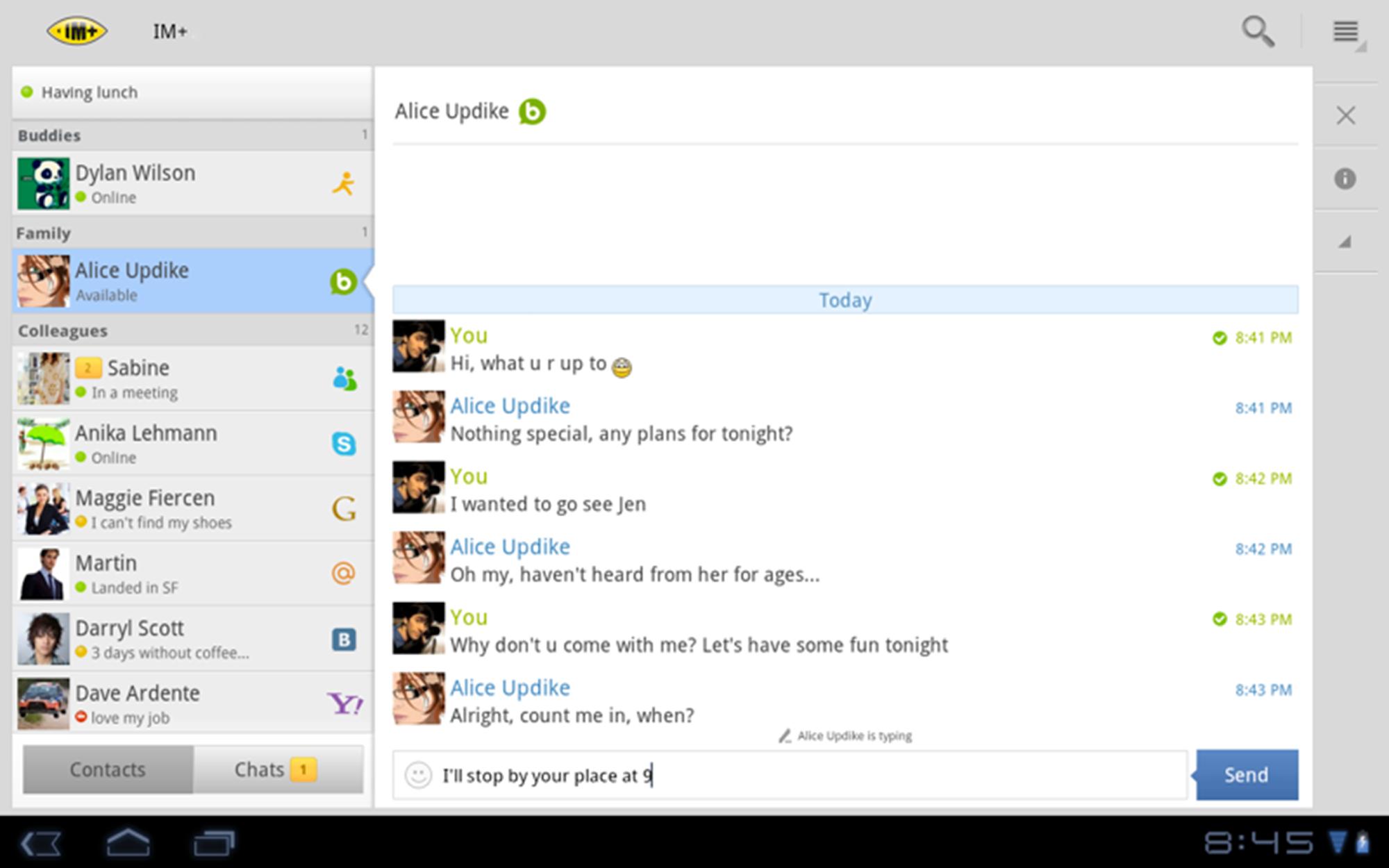 IM+ screenshot #6