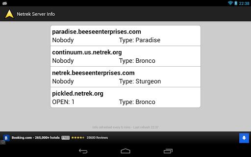 街機必備APP下載|Netrek Server Info 好玩app不花錢|綠色工廠好玩App