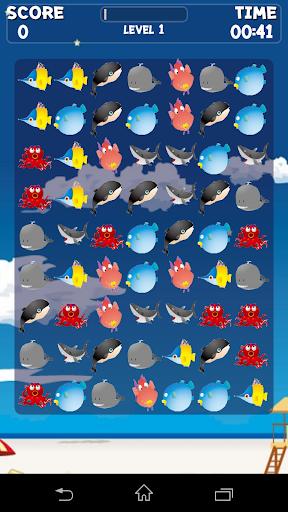 Ocean Animals Crush Game