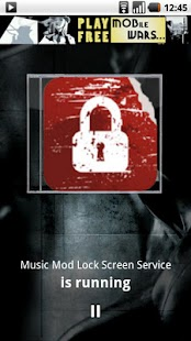 Music Mod Lock Screen- screenshot thumbnail