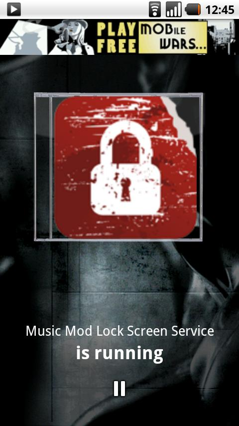 Music Mod Lock Screen - screenshot