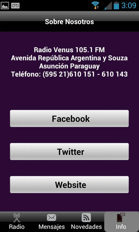 Radio Venus - screenshot