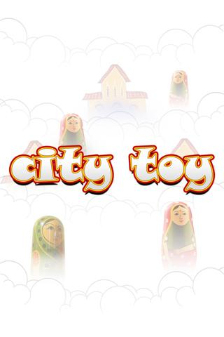 City Toy Memory Match Game