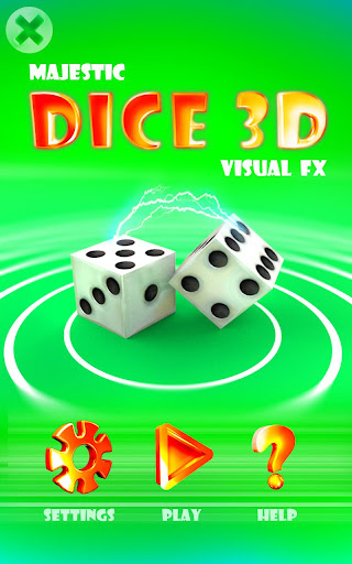 Majestic Dice 3D - Visual FX