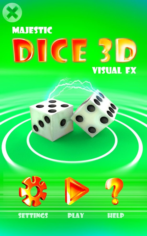 Majestic Dice 3D - Visual FX - screenshot