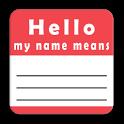 Nomibolario - Significato nomi icon