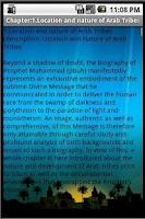 Screenshot of Life Of Prophet Muhammed(pbuh)