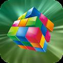3D Mini Rubiks Cube logo