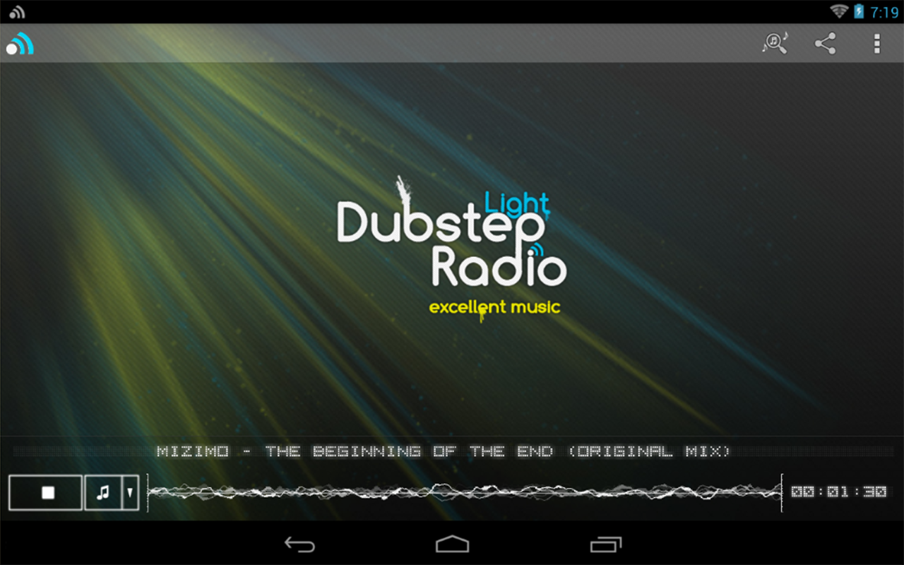 Dubstep Light Radio- screenshot