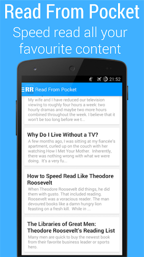 RapidReader- Speed Reading App