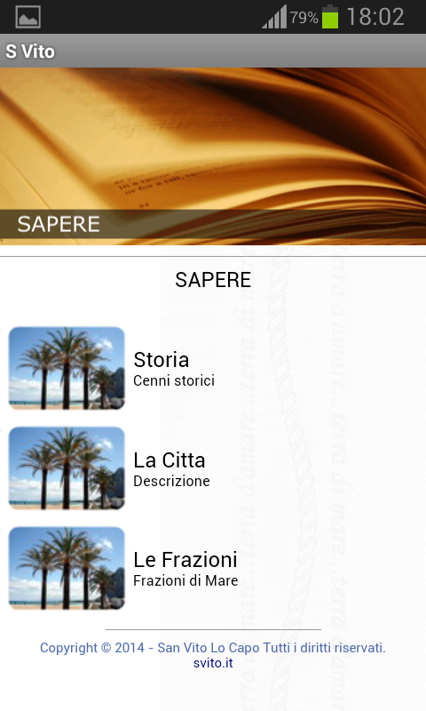 San Vito Lo Capo- screenshot