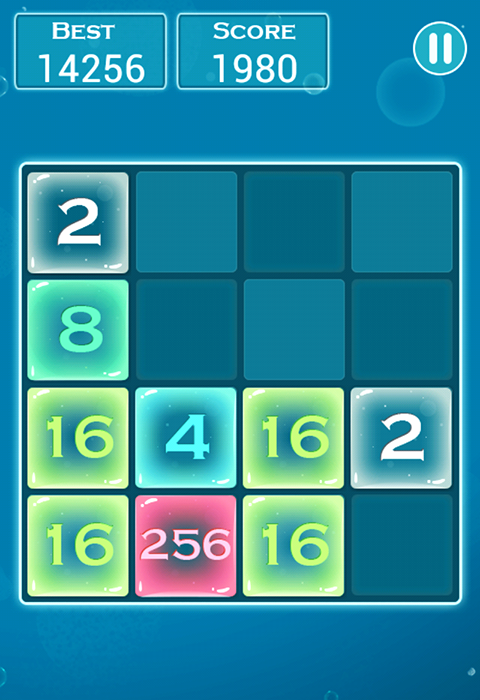 how to win 2048 puzzle