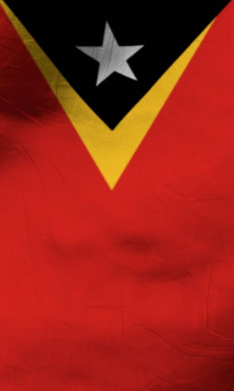 East timor flag lwp Free- screenshot