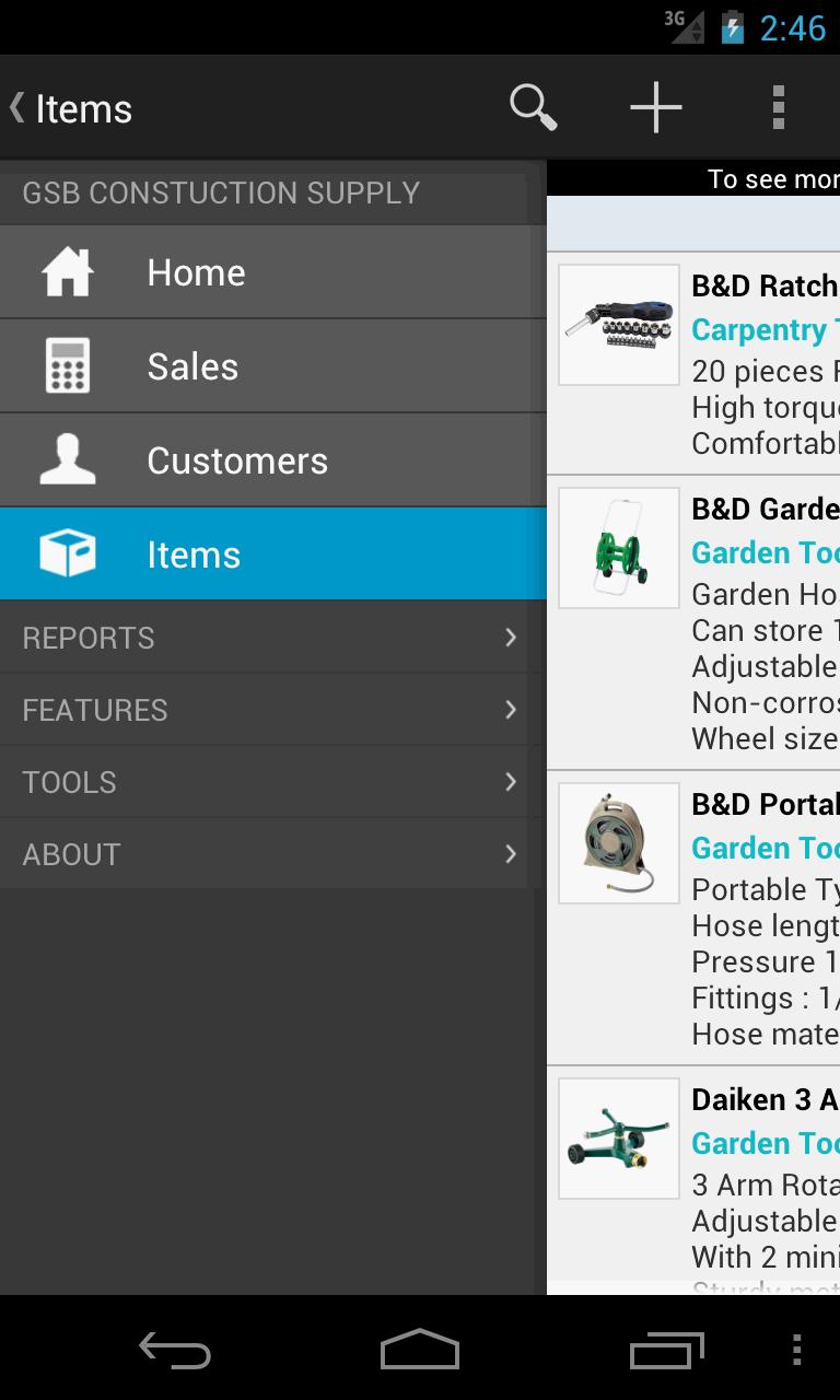 MobileBiz Pro - Invoice App Screenshot 6