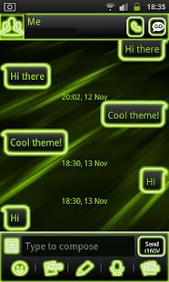 How to mod Neon Green Style Go Sms 1.3 apk for pc