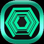 Neon Green Tech GO Theme APK for Blackberry