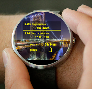 Mural Watchface Screenshot 5
