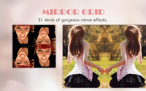 Mirror Grid - Photo Collage screenshot 1