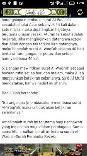 Al-Waaqi'ah - Kunci Kekayaan - náhled
