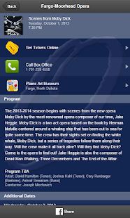 Fargo-Moorhead Opera - screenshot thumbnail