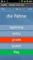 Screenshot of Learn English (UK) Flashcards