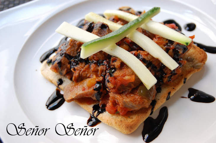 Beef and Tomato on Sunflower Seed Toast Recipe