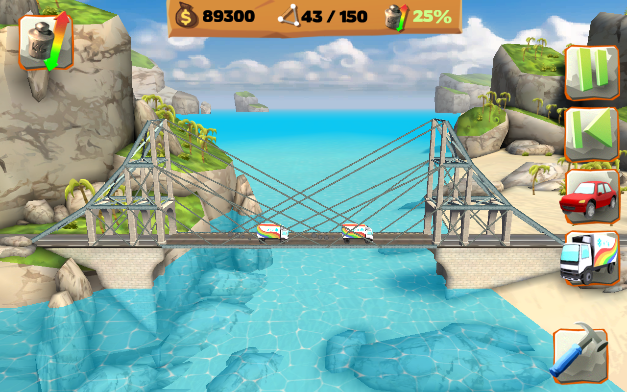 Bridge Constructor Playground FREE- screenshot