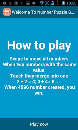 2048 5x5 - Number Tiles Plus