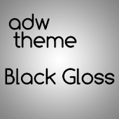 ADW Theme Black Gloss2