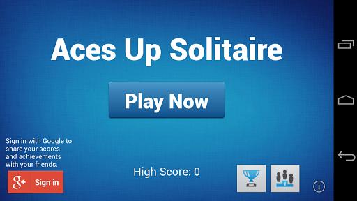 Aces Up Solitaire