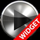 Poweramp widget - BLACK PLATIN icon