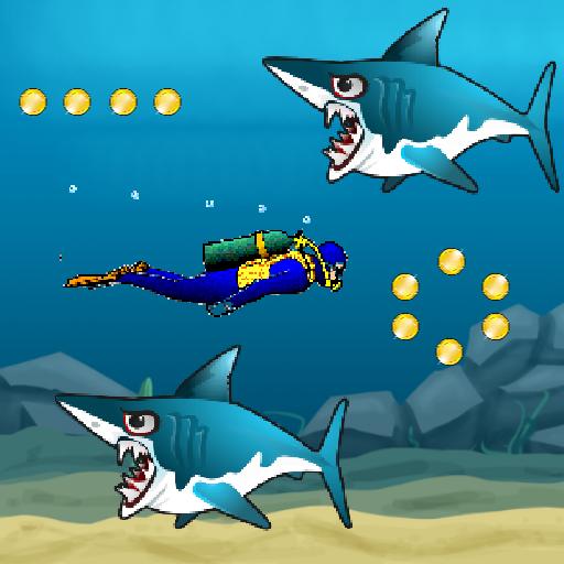 鯊魚襲擊 LOGO-APP點子