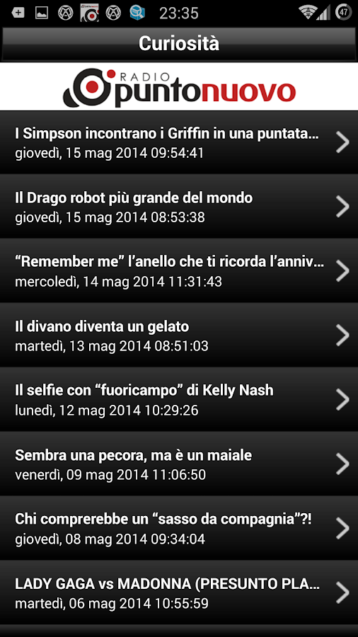 Radio Punto Nuovo- screenshot