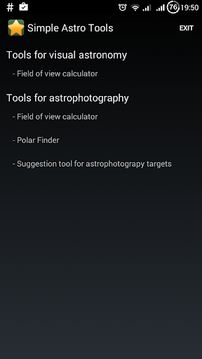 Simple Astronomy Tools