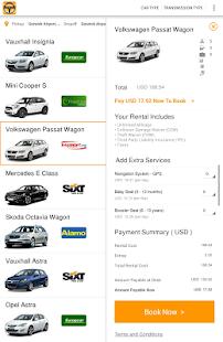 Travelara Car Rentals screenshot