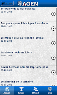 Agen Rugby - screenshot thumbnail