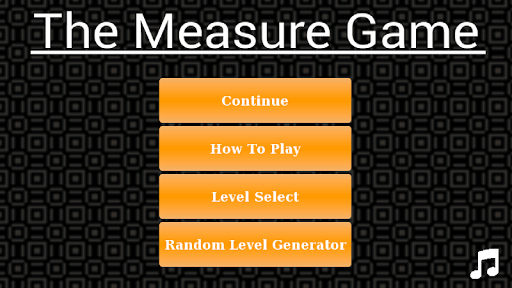 The Measure Game